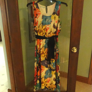 Maurices Floral Print Midi Dress